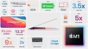 MacBook Air M1 chip