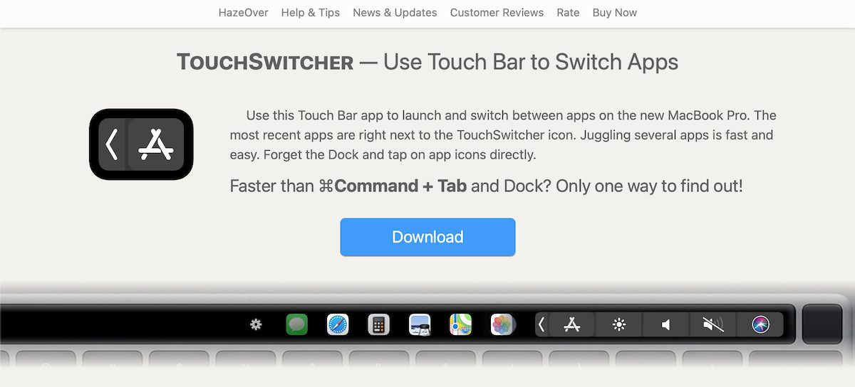 TouchSwitcher- M1 Apple Silicon