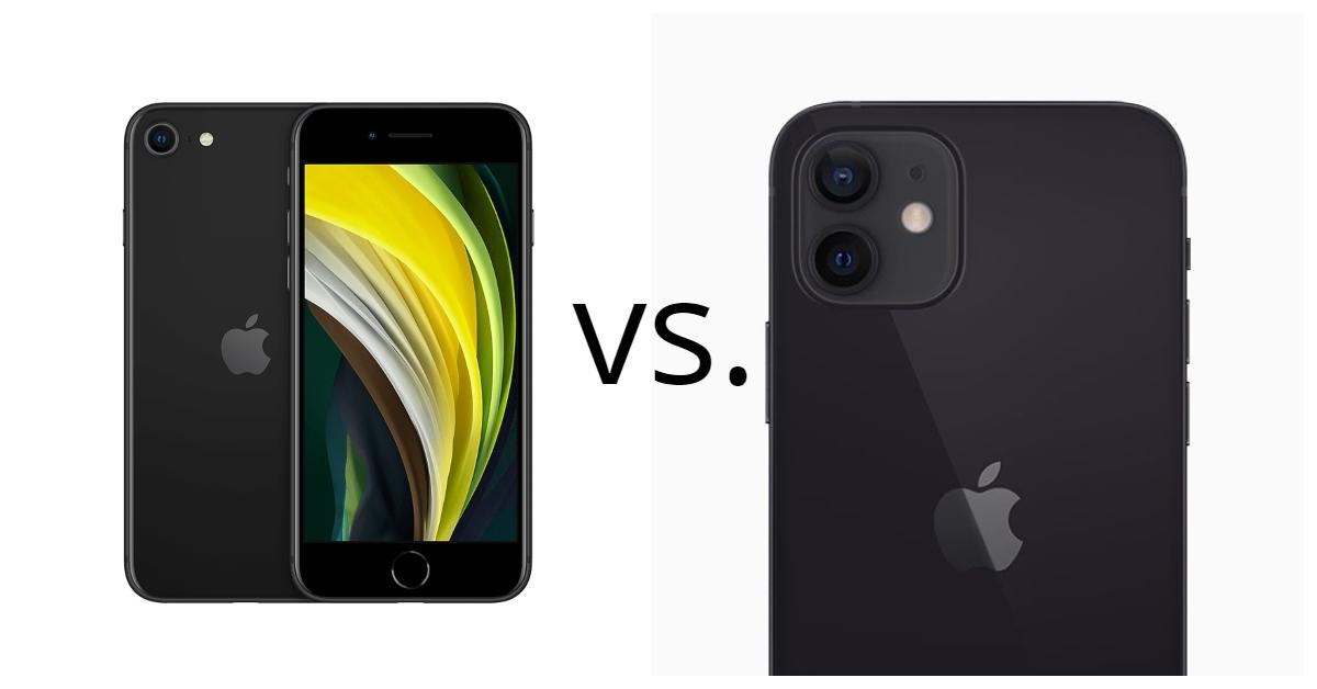 iPhone SE vs. iPhone 12