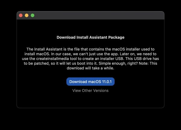 install macOS Big Sur on unsupported Macs 7