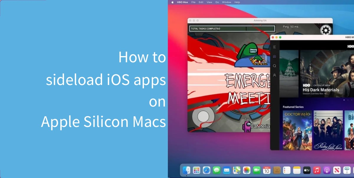 sideload iOS apps on Apple Silicon Macs