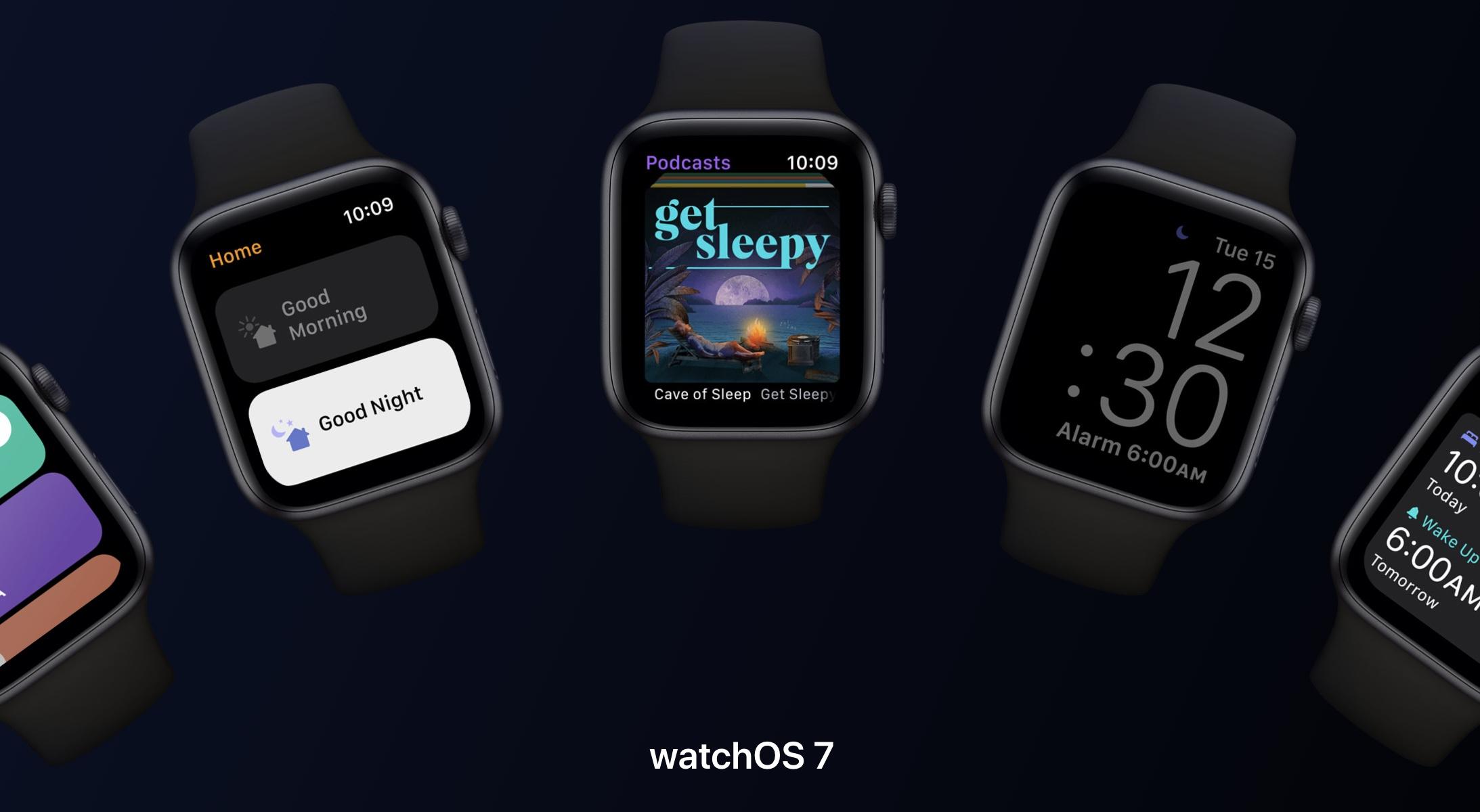 watchOS 7.2 developer beta