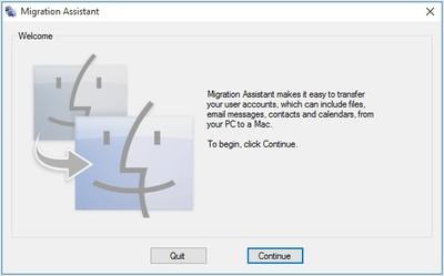 windows migration assistant