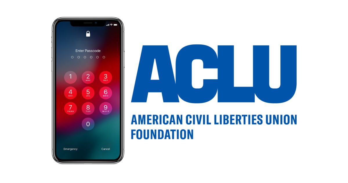 U.S. non-profit ACLU sues FBI for information about iPhone encryption breaking capabilities
