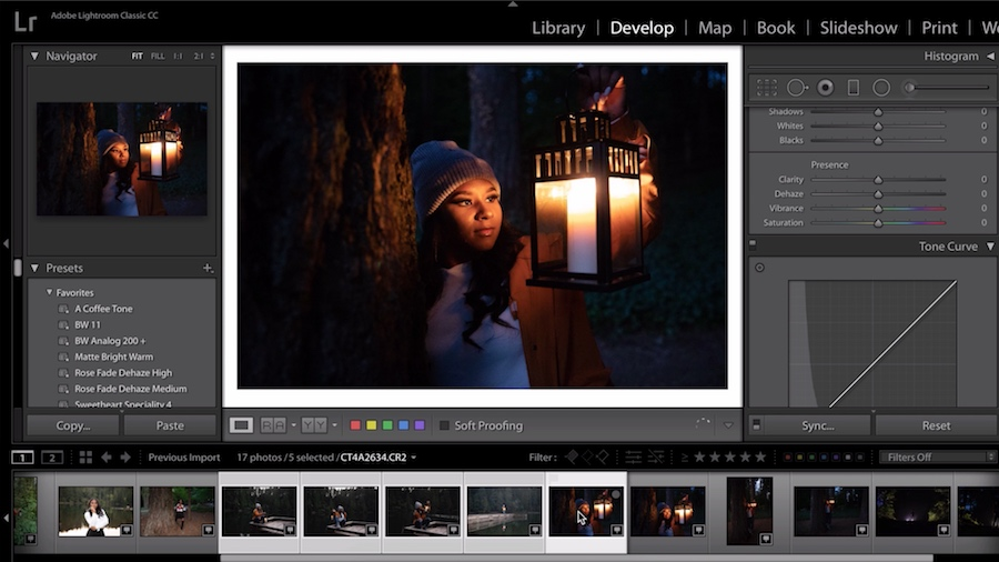 Adobe photo editing