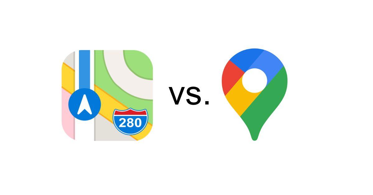 Apple Maps 'Look Around' vs. Google Maps' 'Street View'