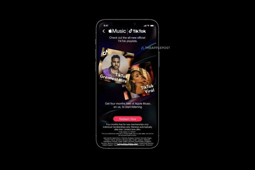 TikTok x Apple Music