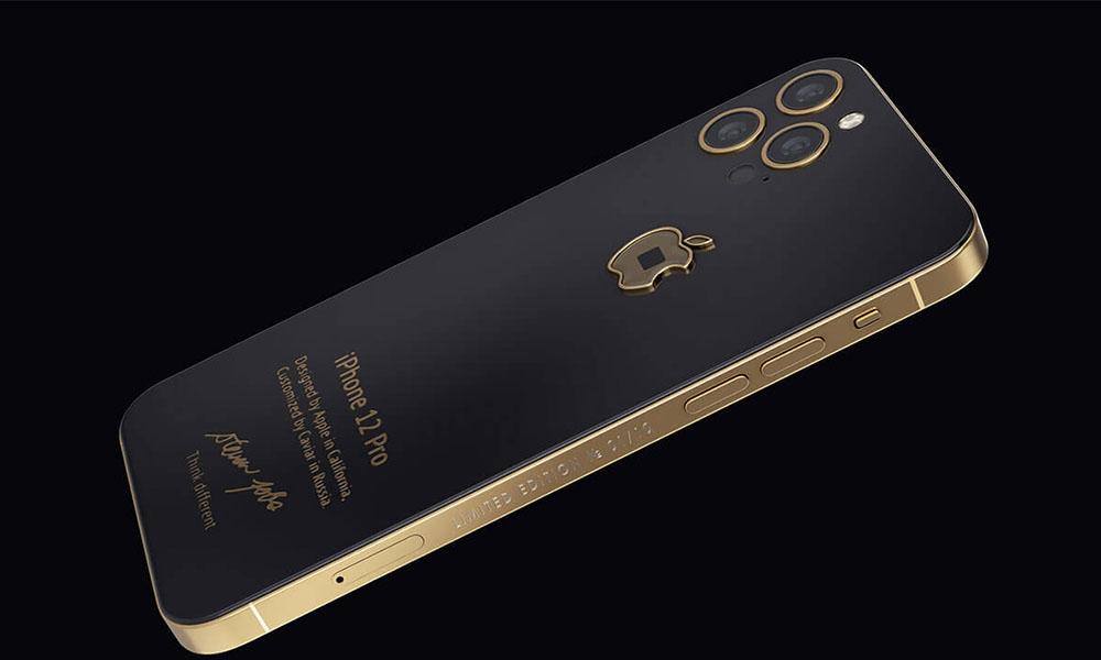 Caviar gold iphone 12 jobs