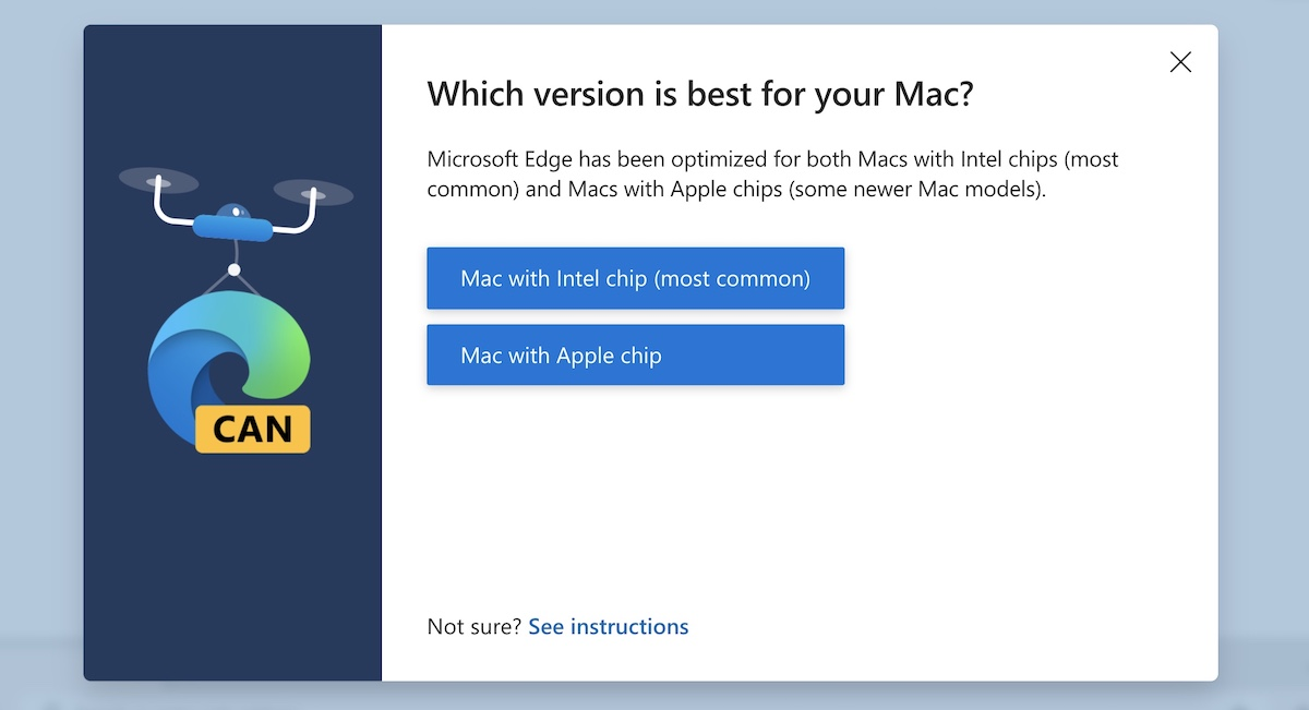 Edge for Macs with Apple Chip