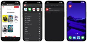 Google Stadia iOS iPhone iPad