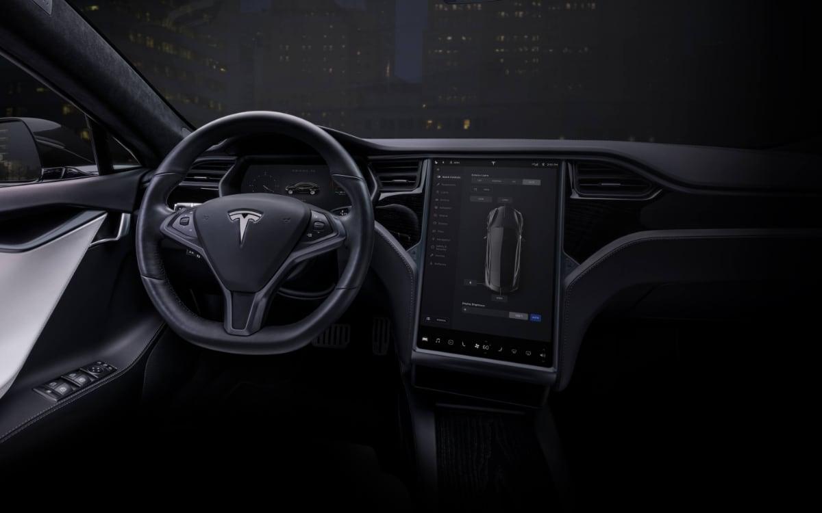 Tesla Apple Music