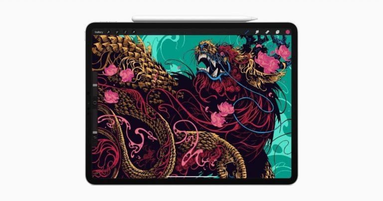iPad Pro with OLED