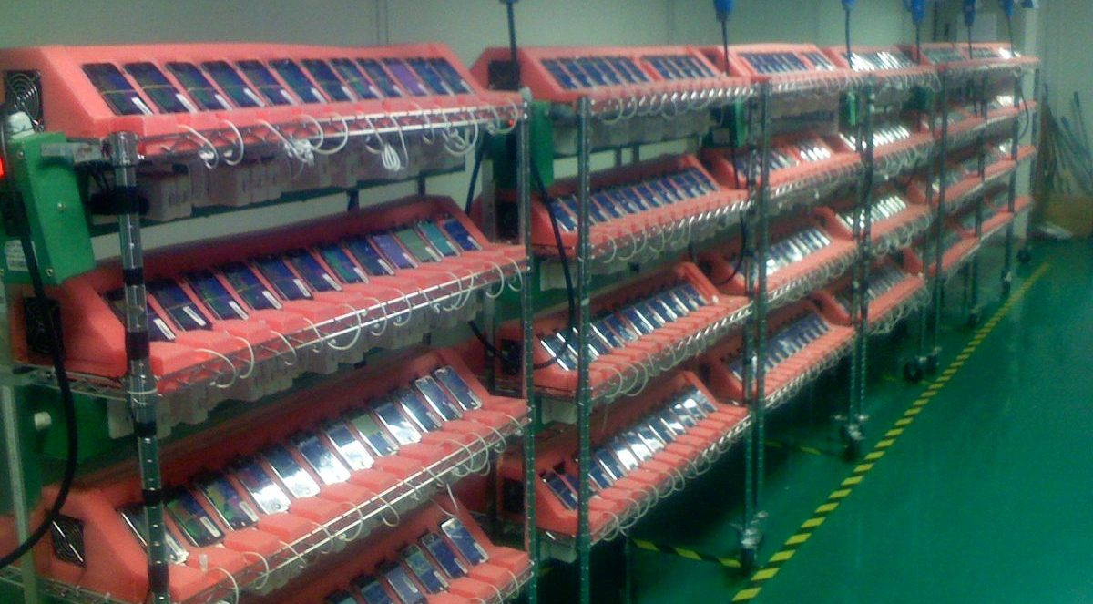 Ex-Apple employee shares images of the original 2007 iPhone assembly line