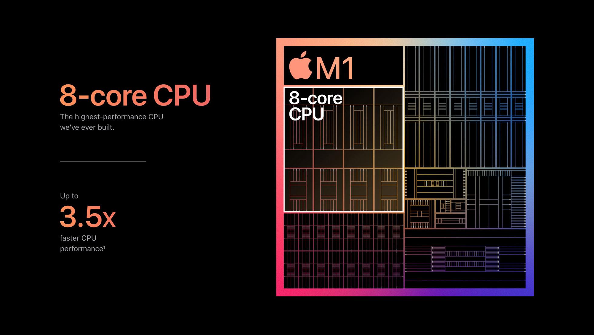 m1 chip macs