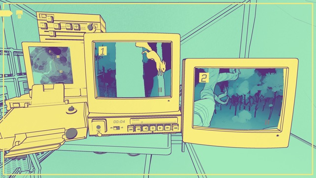 Apple Arcade NUTS A Surveillance Mystery