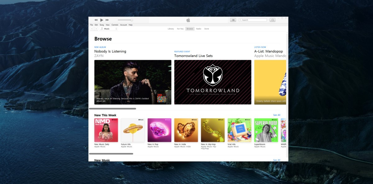 Apple Music Podcasts apps Windows