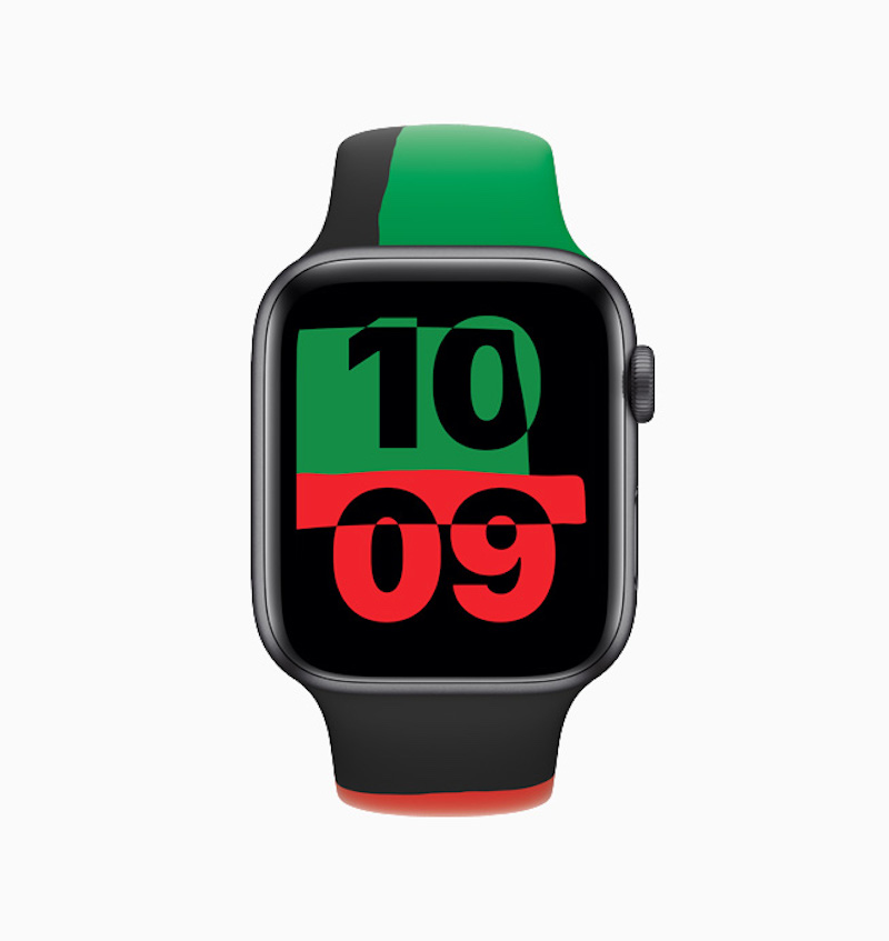 Apple Watch Black Unity collection