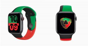 Apple Watch Black Unity collectio
