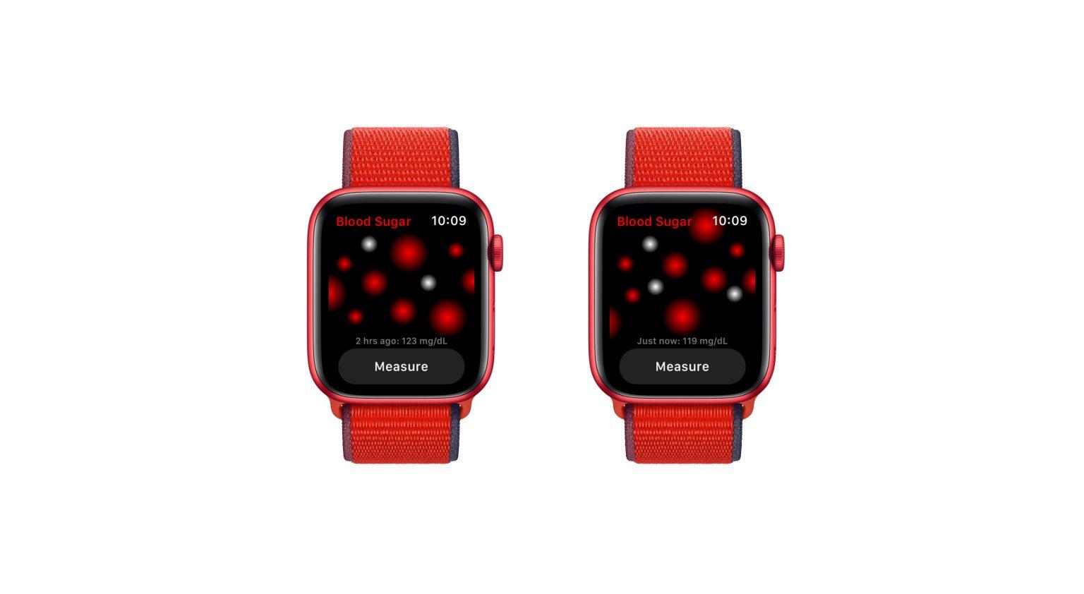 Apple Watch blood sugar levels