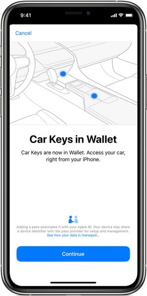 Apple Car Keys