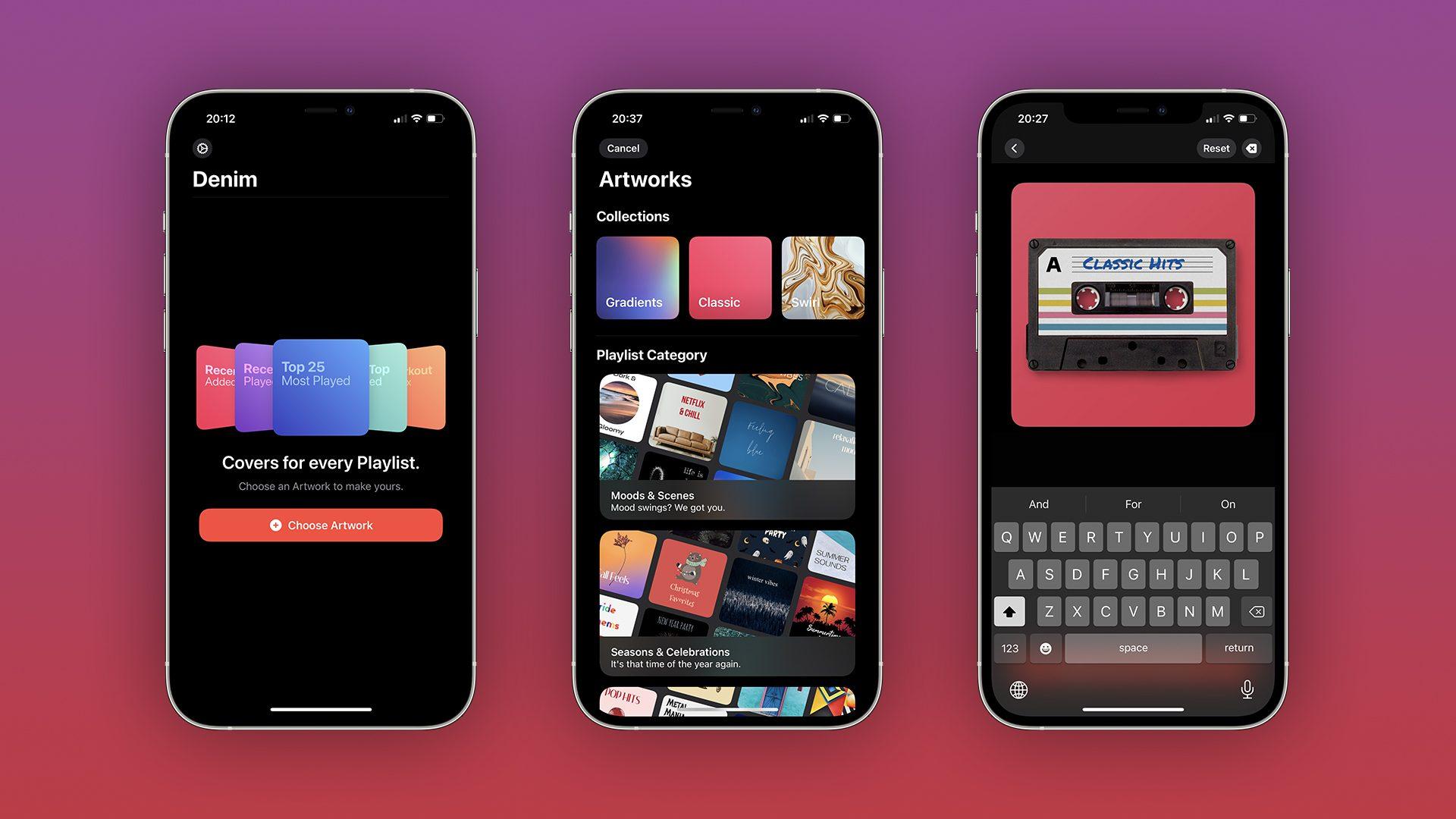 Denim app for iOS 2