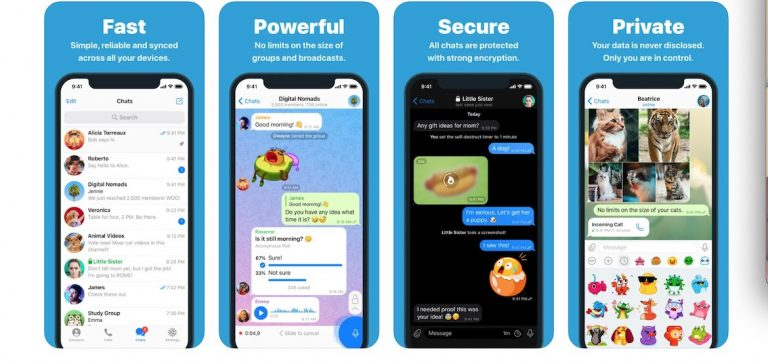 Apple sued over Telegram