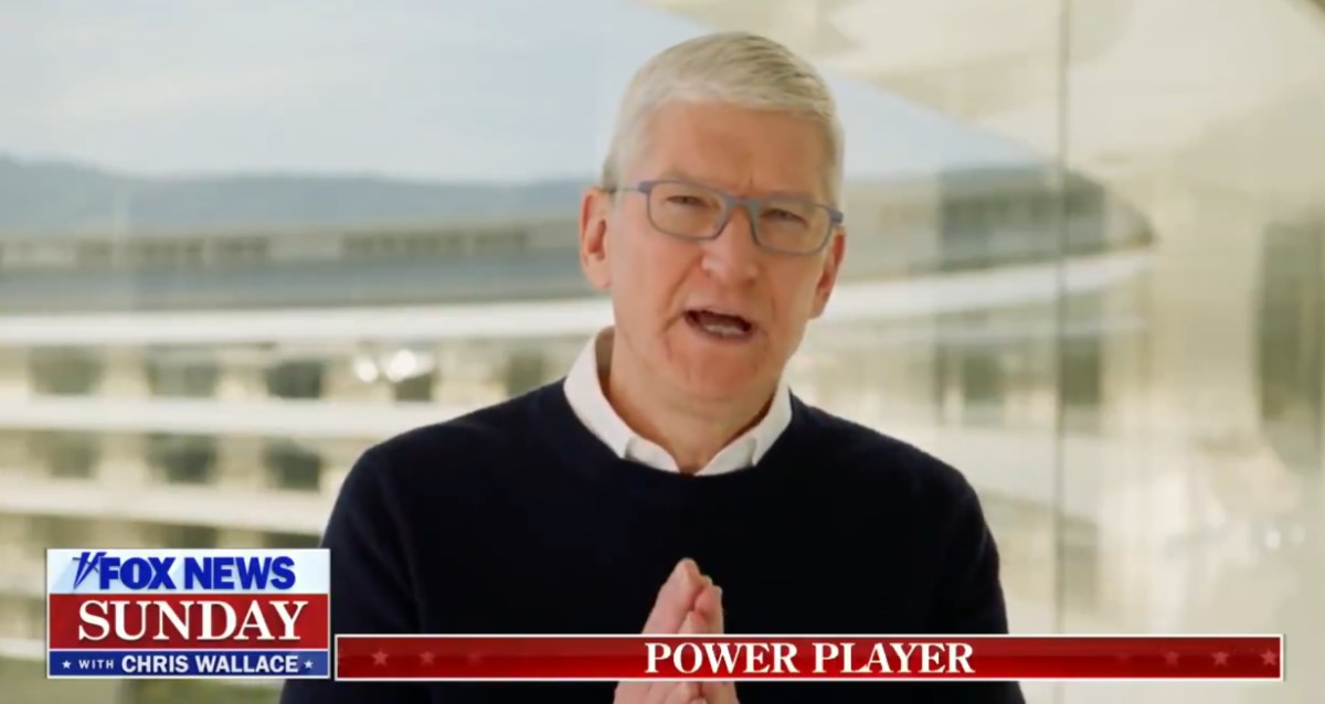 Tim Cook Fox News Sunday Interview