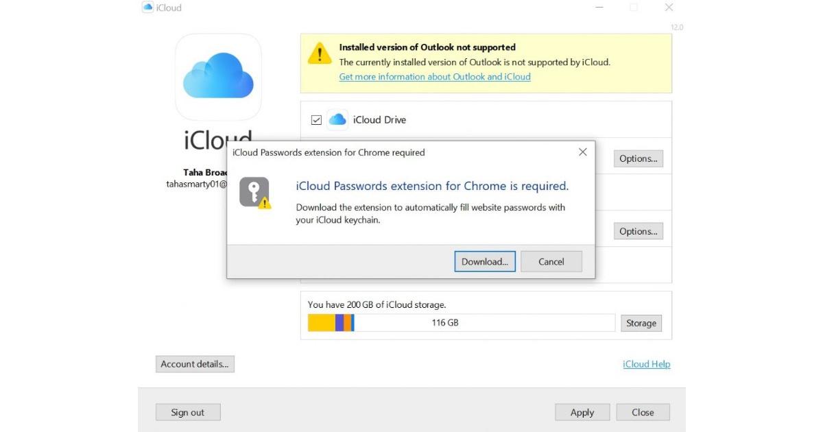 iCloud Keychain passwords Chrome