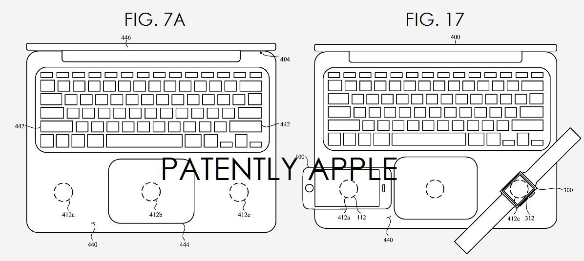 Newly granted Apple patents