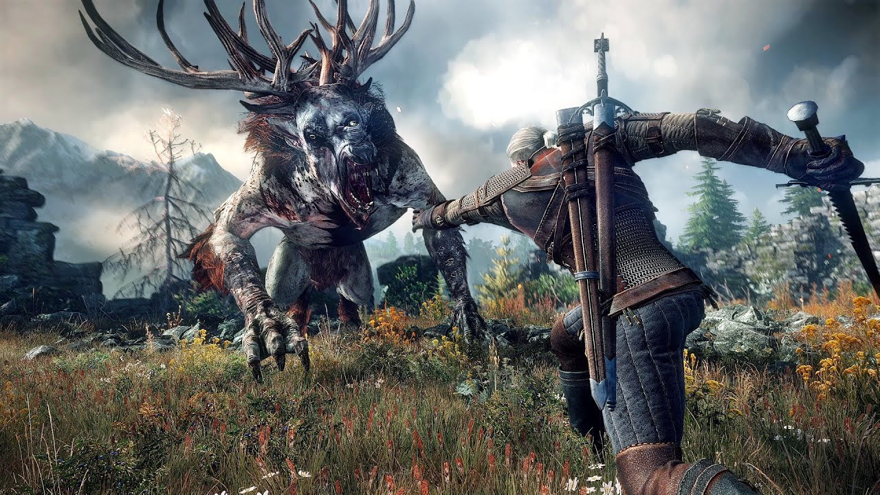 witcher 3 - windows games