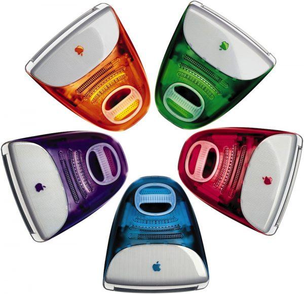 1998 iMac colors