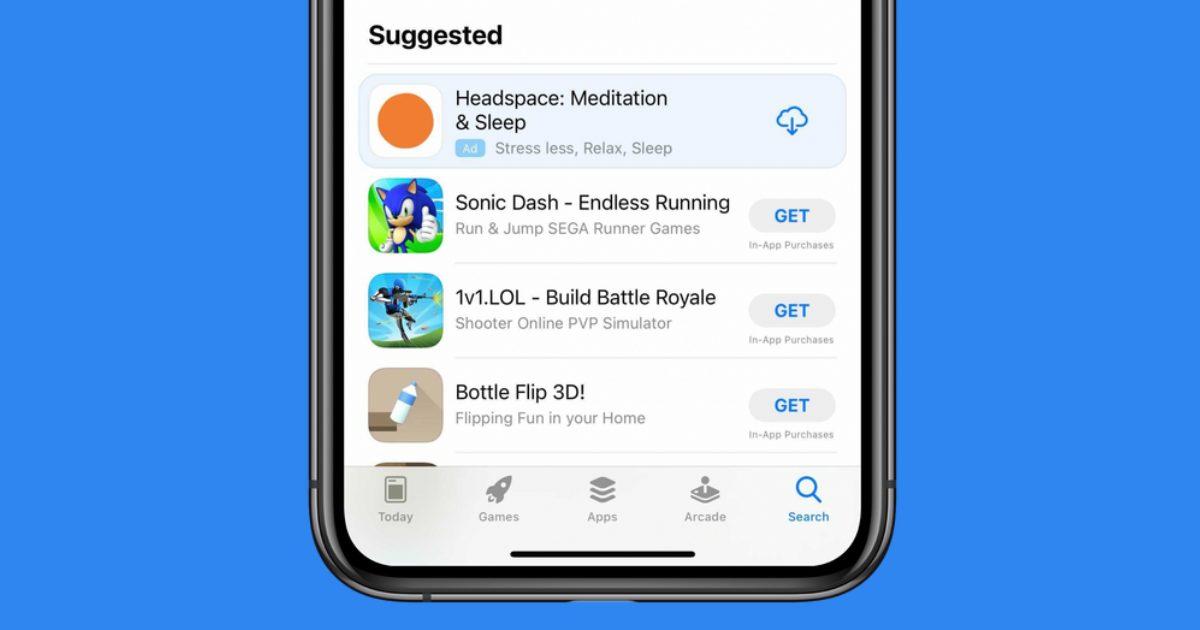 App Store ad