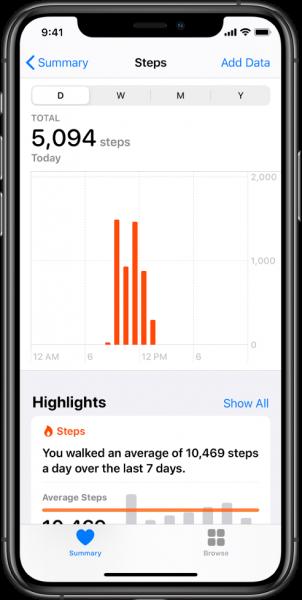 Apple Health app