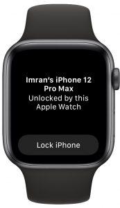 Apple Watch unlocked iPhone