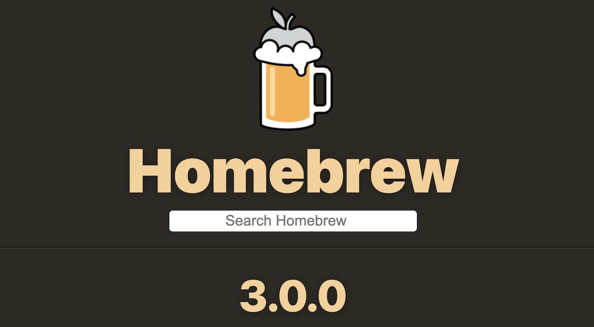 Homebrew 3.0.0 Apple Silicon M1 Macs