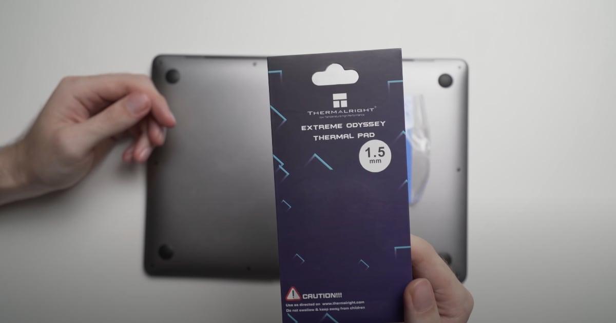 M1 MacBook Air Thermal Mod