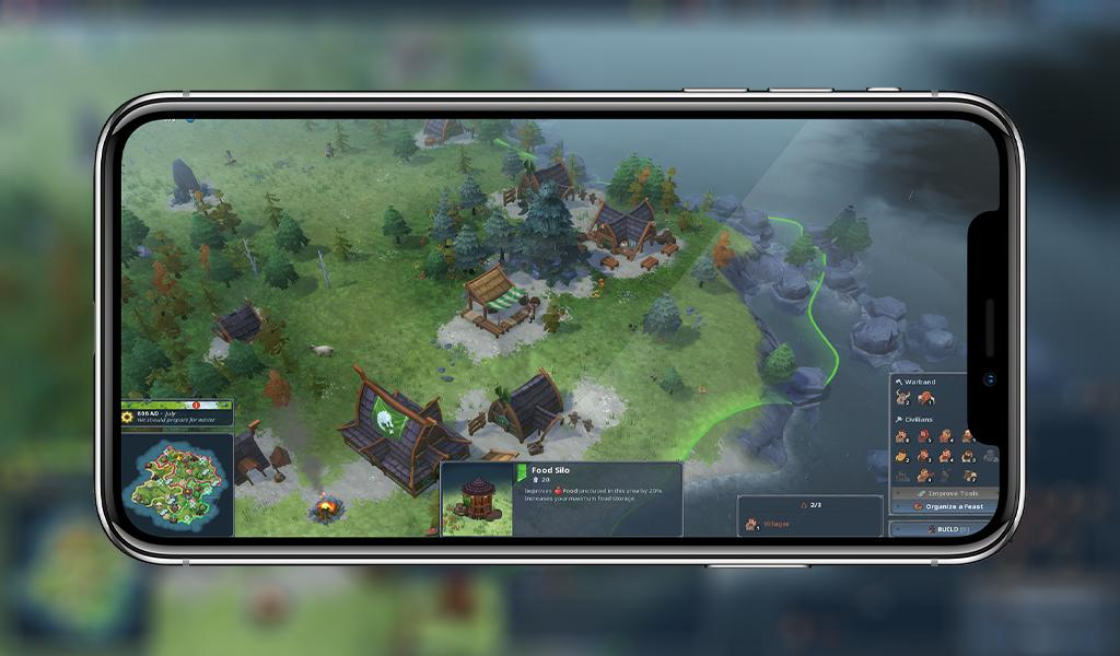 Northgard on iOS and Android