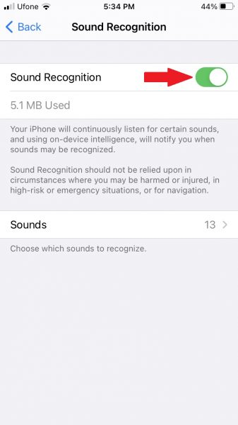 How to set alerts for different sounds around you on iPhone