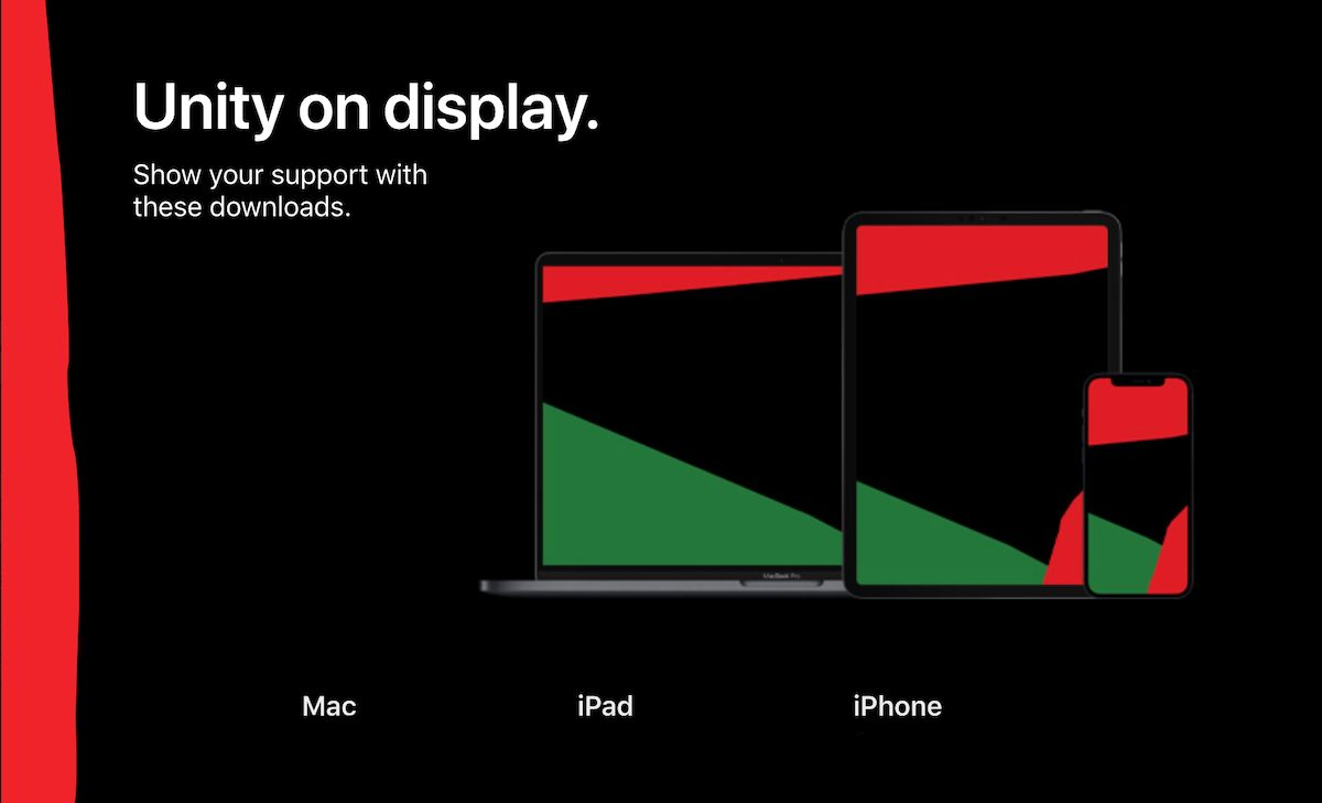 Apple unity wallpaper