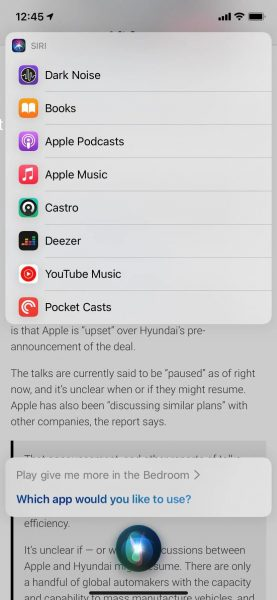 iOS 14.5 default music streaming app 2