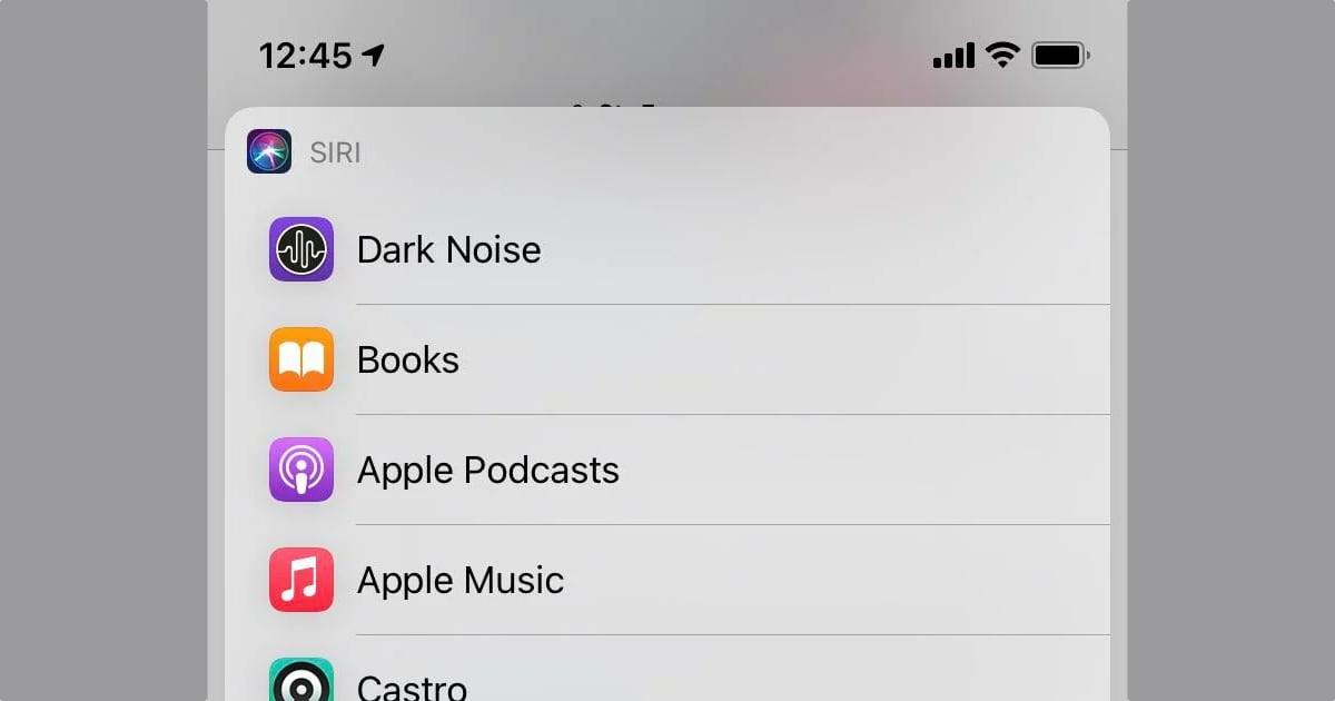 iOS 14.5 default music streaming app