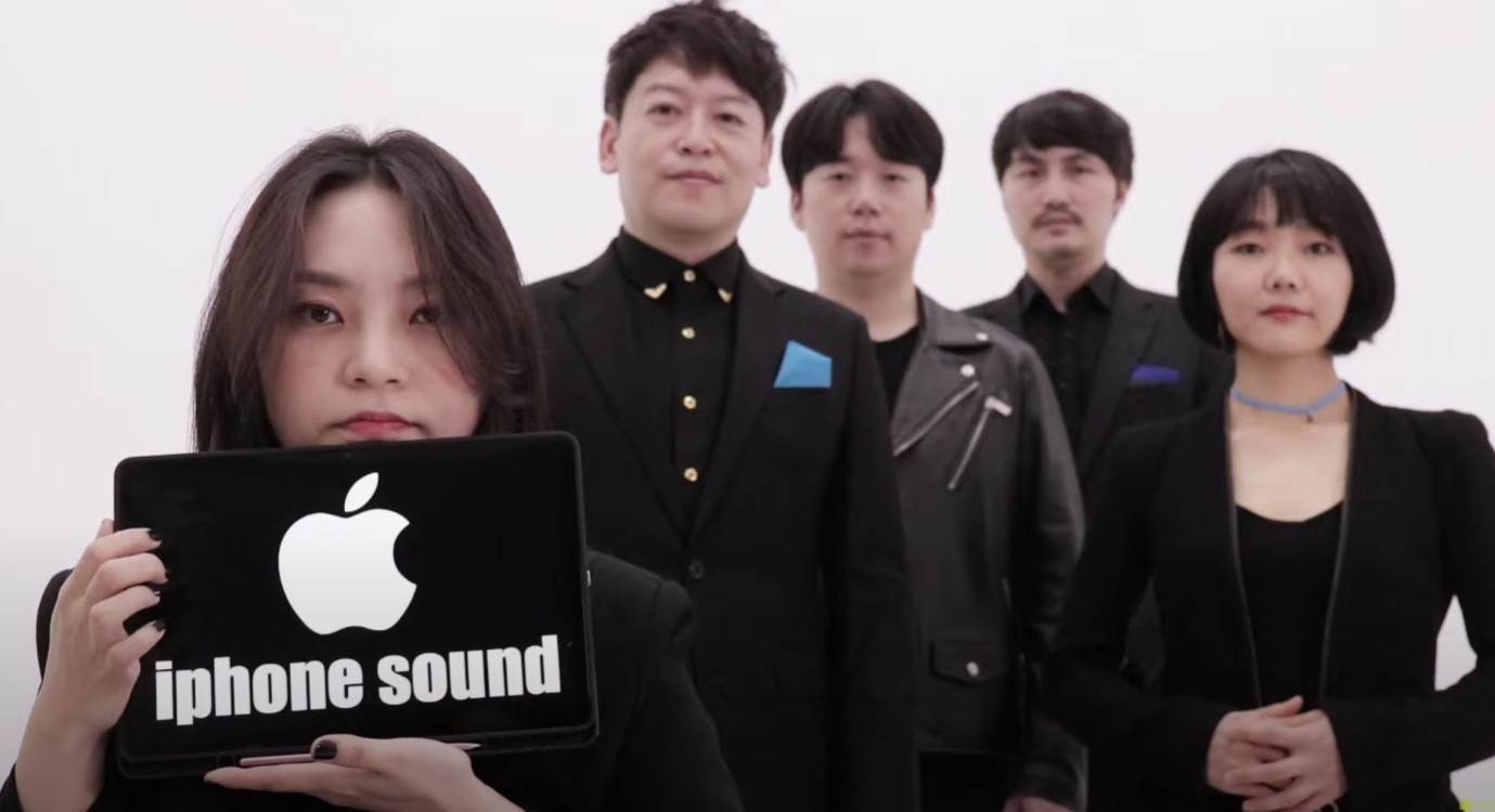 iPhone ringtones a cappella
