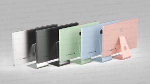 2021 M1 iMac colors