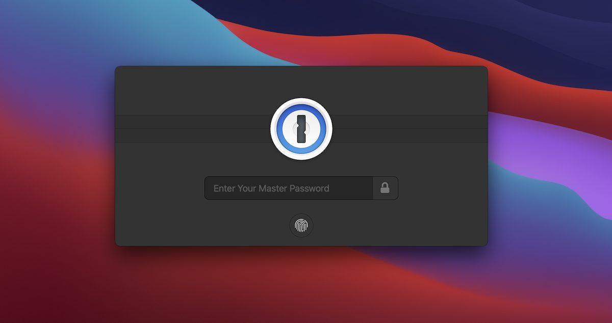 1Password Apple Silicon M1 Mac