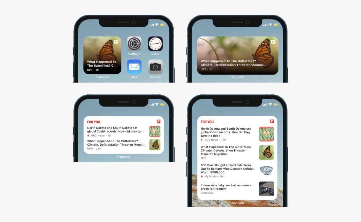 Flipboard iOS 14 widgets 1