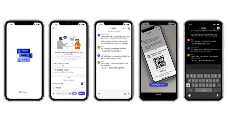 Group Transcribe app Microsoft