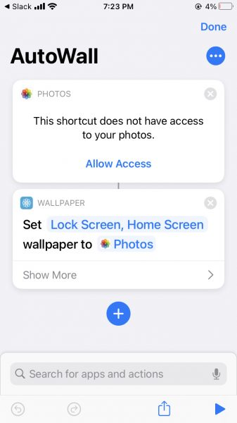 How to automatically change your iPhone wallpaper 3