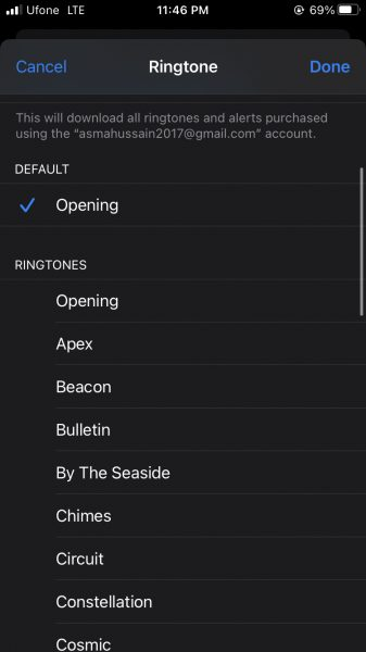 How to customize ringtones for specific contacts on iPhone 4
