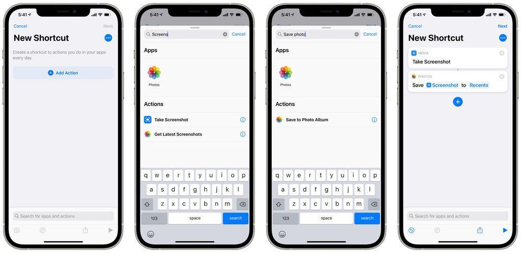 iOS - how to take screenshots