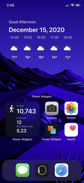 Power Widgets